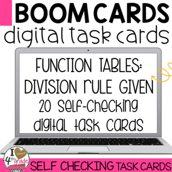 BOOM Cards Division Function Tables