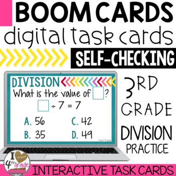 BOOM Cards Division Mixed Practice