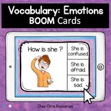 BOOM Cards : Emotions and Feelings Activity  - Distance Learning