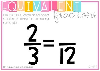 BOOM Cards: Equivalent Fractions {4.NF.1}