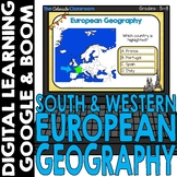 European Map and Geography DIGITAL Cards Set 2 | Google | BOOM