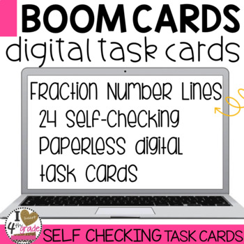 BOOM Cards Fractions on a Number Line