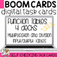 BOOM Cards Function Table Bundle