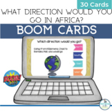 BOOM Cards Geography Map Activity Africa