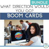 BOOM Cards Geography Map Activity BUNDLE