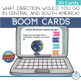 BOOM Cards Geography Map Activity Central and South America