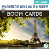 BOOM Cards Geography Map Activity Europe