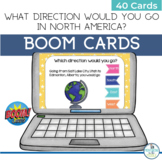 BOOM Cards Geography Map Activity North America
