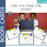 BOOM Cards Geography United States Map Activity