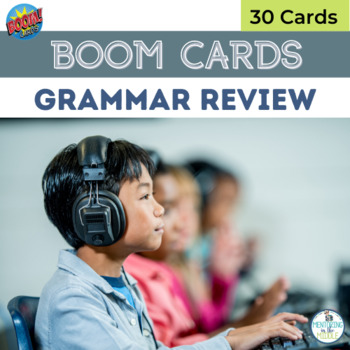 BOOM Grammar Review cards