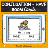BOOM Cards : HAVE Subject Verb Agreement  - Distance Learning