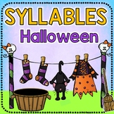 BOOM CARDS READING How Many Syllables HALLOWEEN DIGITAL TASK CARDS