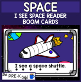 BOOM Cards I See Space Emergent Reader