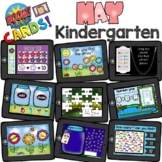 BOOM Cards - Kindergarten May - Distant Learning