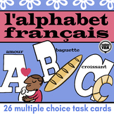 BOOM Cards L'alphabet français French Alphabet