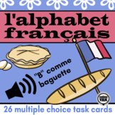 BOOM Cards L'alphabet français French Alphabet (listening)