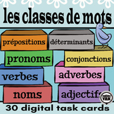 BOOM Cards Les Classes de Mots or French Parts of Speech