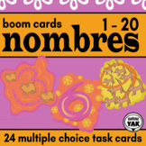 BOOM Cards Les Nombres 1 - 20 French Numbers