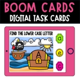 BOOM Cards Letter Match Distance Learning