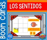 BOOM Cards™ Los Sentidos | Spanish Resources