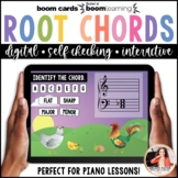 Distance Learning Music BOOM Cards: Major & Minor Chords on Grand Staff