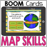 Map Skills | BOOM Cards | Distance Learning