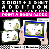 BOOM Cards Math 2 Digit Addition Without Regrouping Worksheets, 1st Grade Math