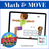 BOOM Cards: Math and Move Addition and Subtraction