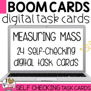 BOOM Cards Measuring Mass