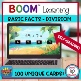 BOOM Cards Division Basic Facts to 10 Digital Resource