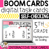BOOM Cards Multiplication as Scaling