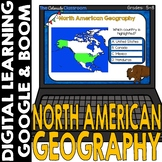 BOOM Cards | North America Geography Countries and Capital