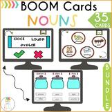 Nouns BOOM Cards Grammar Activities BUNDLE