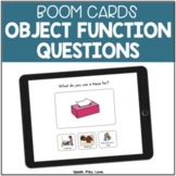 BOOM Cards Object Function for Speech Therapy Set #1   Autism