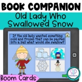 BOOM Cards Old/Cold Lady Who Swallowed Some Snow Companion