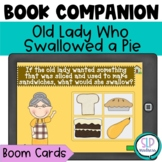 BOOM Cards Old Lady Who Swallowed a Pie Companion Thanksgi