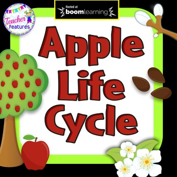 BOOM Cards Paperless Digital Task Cards APPLE LIFE CYCLE