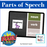 BOOM Cards: Parts of Speech
