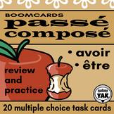 BOOM Cards  Passé Composé Review être and avoir