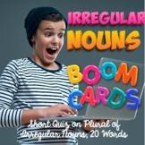 BOOM Cards Plural of Irregular Nouns, 20 Words Forming Plu