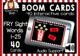 BOOM Cards™️ - Popcorn Sight Words - Fry Sight Words 1-25