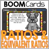 Ratios & Equivalent Ratios | BOOM Cards | Distance Learning