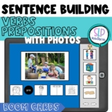 BOOM Cards Sentence Formulation with Visuals & Real Photos