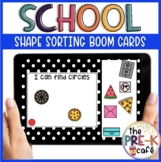 BOOM Cards: Shape Sorting | Back to School | Distance Learning