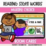 BOOM Cards™ | Sight Words Reading & Listening | Distance Learning