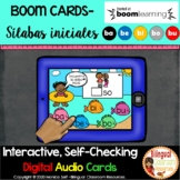 FREE BOOM Cards Sílabas iniciales con la letra b- ba, be,