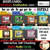 BOOM Cards I Sílabas trabadas con r I Spanish R Blends Dig