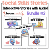 BOOM Cards Social Skills Bundle 2 - Five Monster Stories D