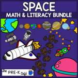 SALE BOOM Cards Space Math & Literacy Bundle | 10 full decks