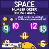 BOOM Cards Space Number Order Line